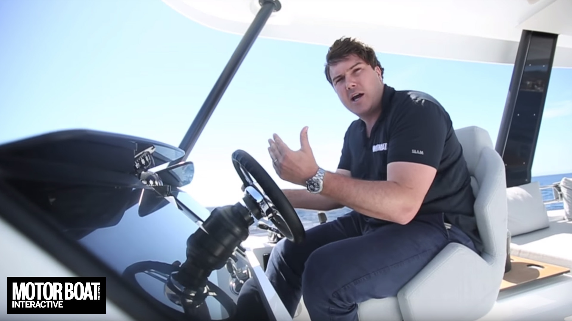 Fountaine Pajot MY44 review by Motor Boat & Yachting