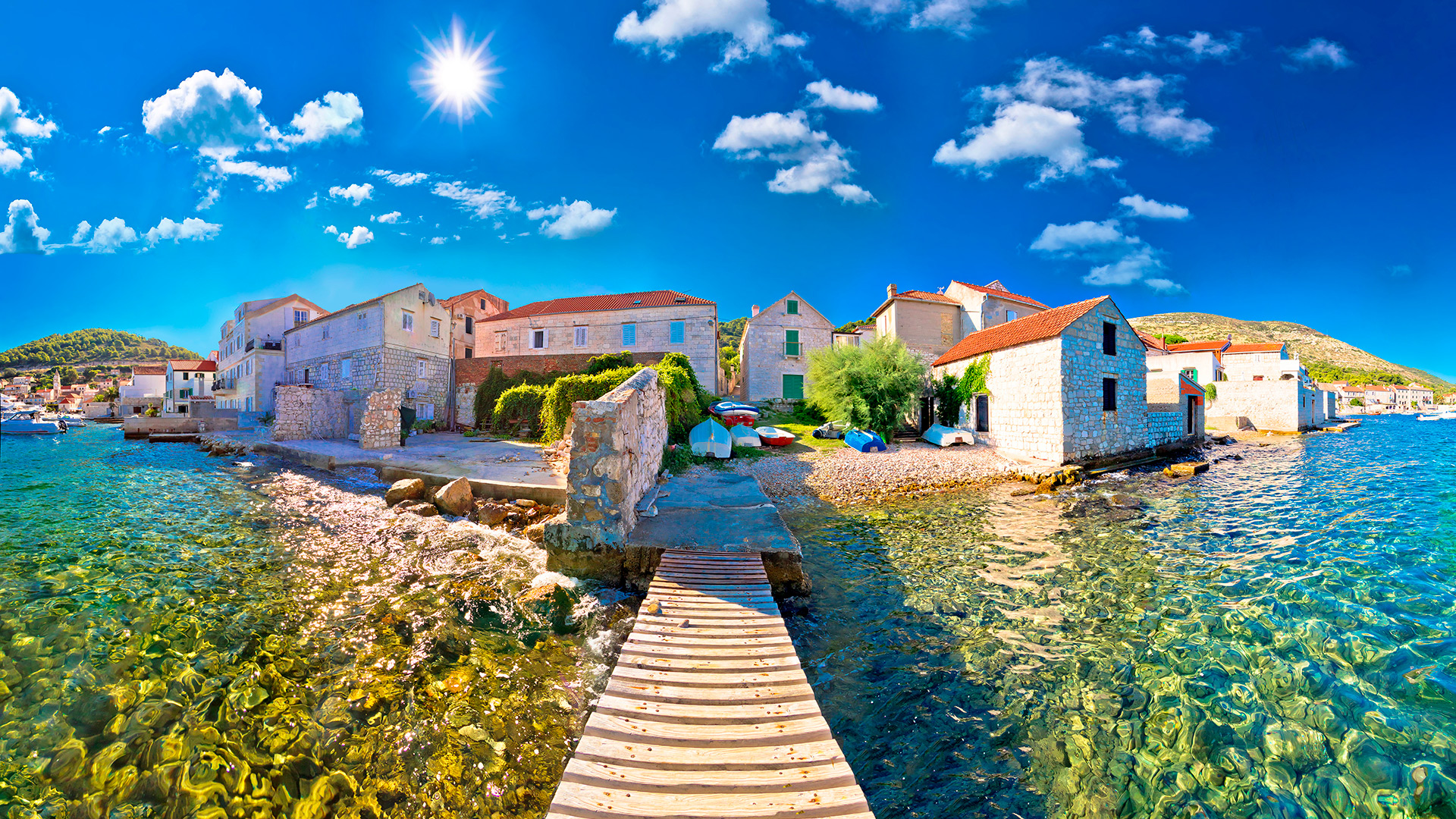 Vis island, Croatia - Croatian waters SimpleSail sailing routes