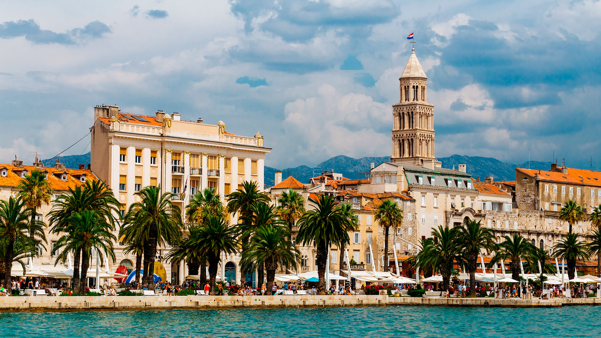 City promenade, Split, CroatiaSplit, Croatia - Croatian waters SimpleSail sailing routes