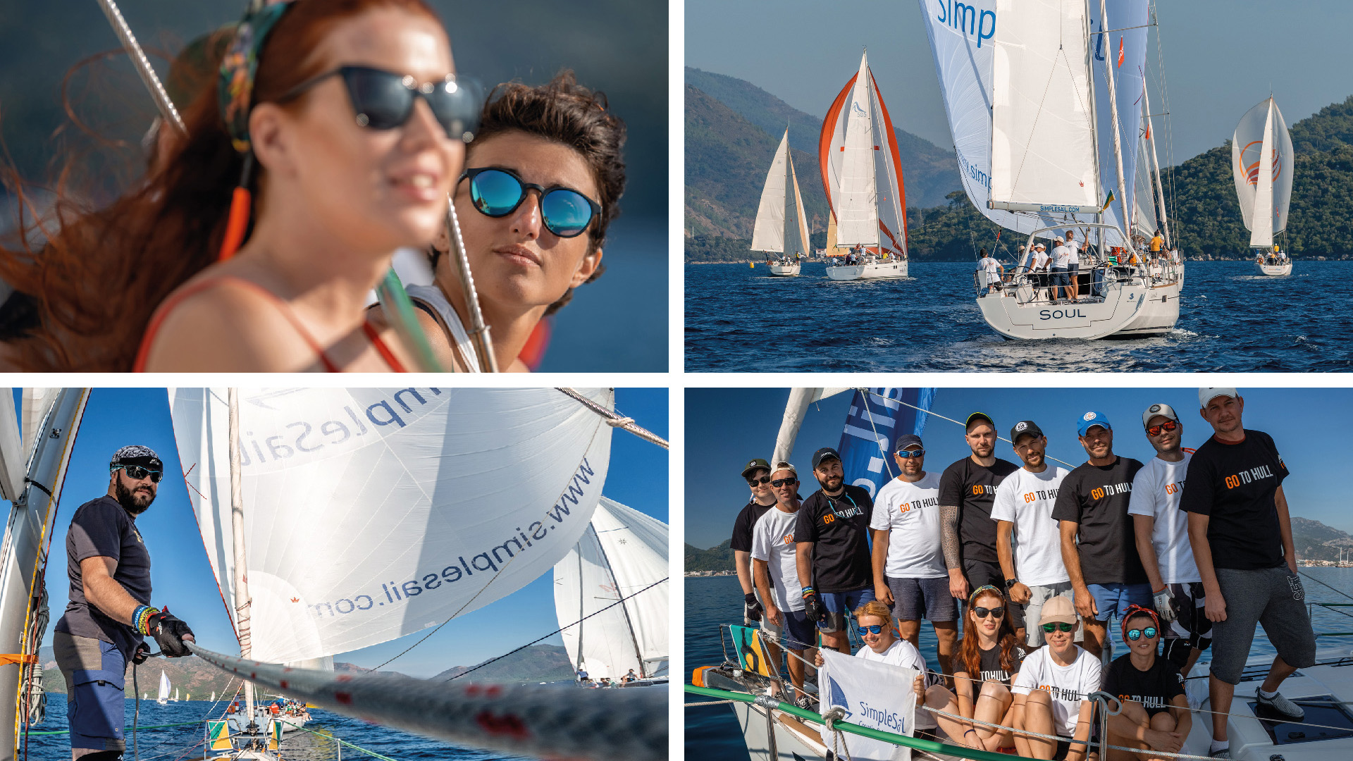 It's amazing SimpleSail yacht charter