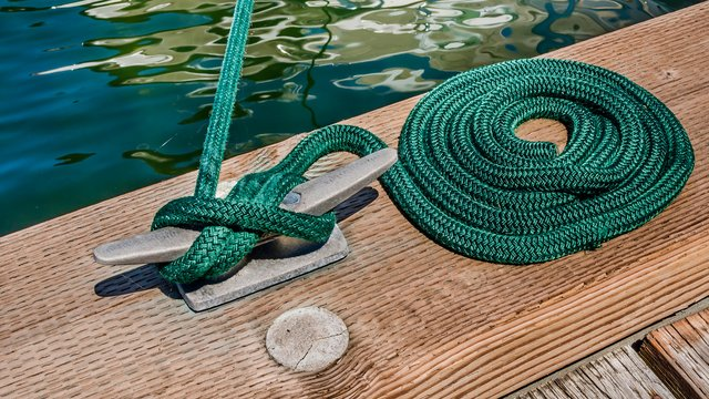 6 major sea knots - you will need a yacht