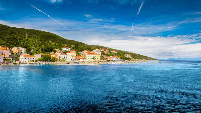 Coast near Valun village, Cres island, Croatia - SimpleSail sailing routes
