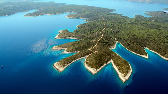Islands of the Croatian Adriatic, Croatia - SimpleSail sailing routes