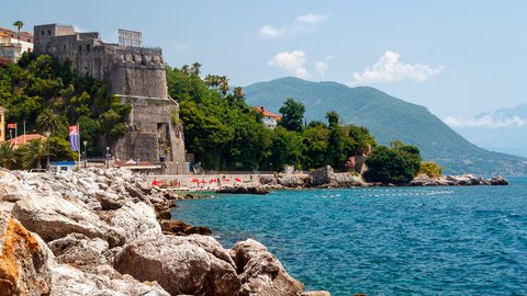 Forte Mare – the old fortress in Herceg Novi, Montenegro - SimpleSail sailing routes